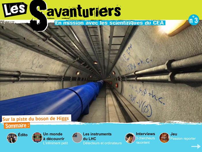 Les Savanturiers - Sur la piste du boson de Higgs