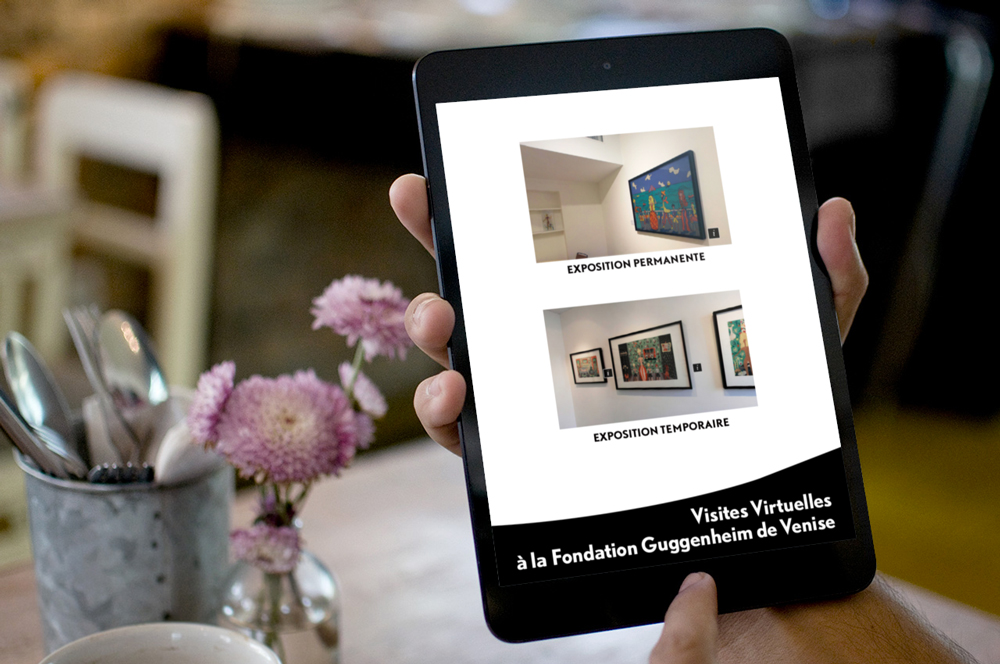 Création d'application numérique - Pegeen Vail Guggenheim