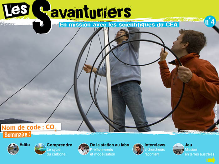Les Savanturiers - Nom de code : CO2