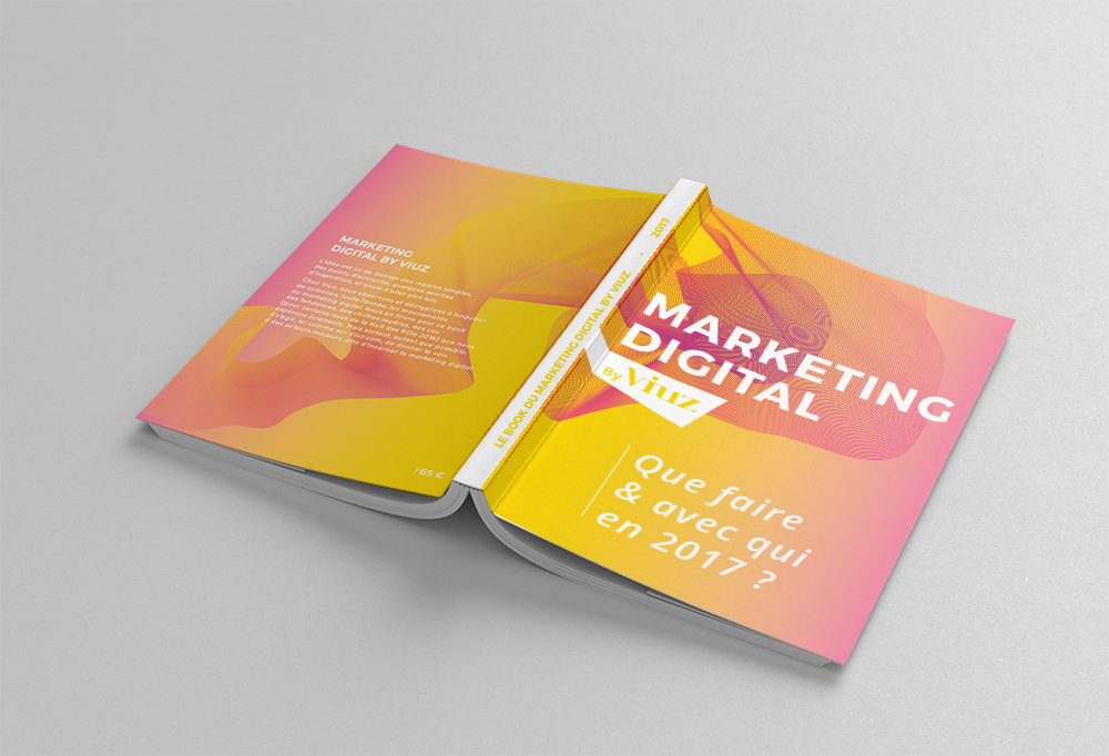Couverture du book du marketing digital by Viuz