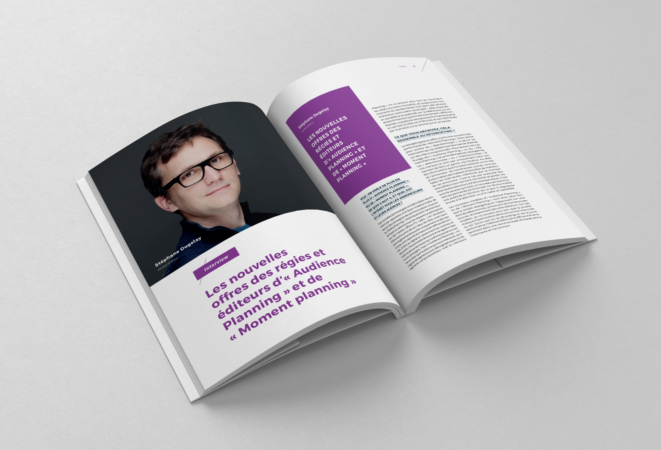 Pages intérieures du book du marketing digital by Viuz