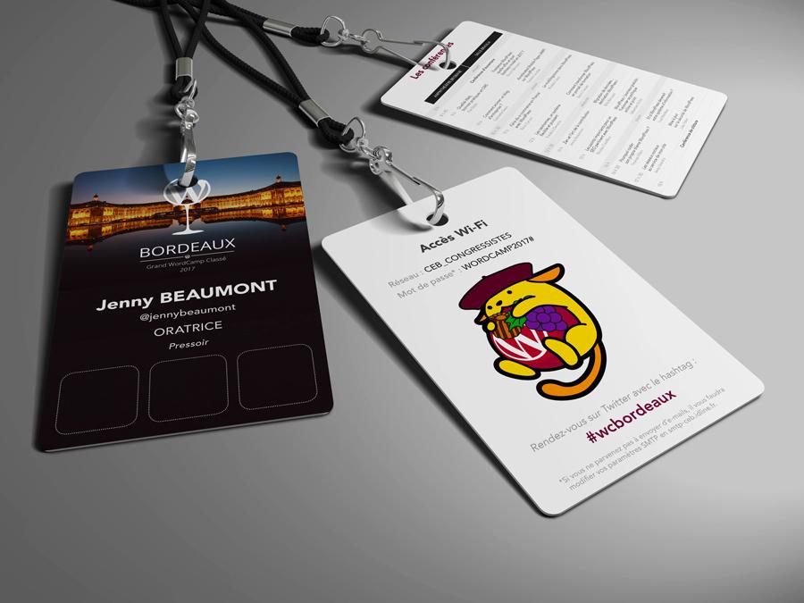 Badges – WordCamp Bordeaux 2017
