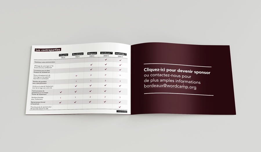 Dossier de partenariat – WordCamp Bordeaux 2017