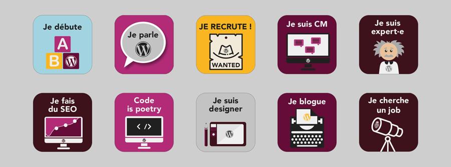Stickers – WordCamp Bordeaux 2017