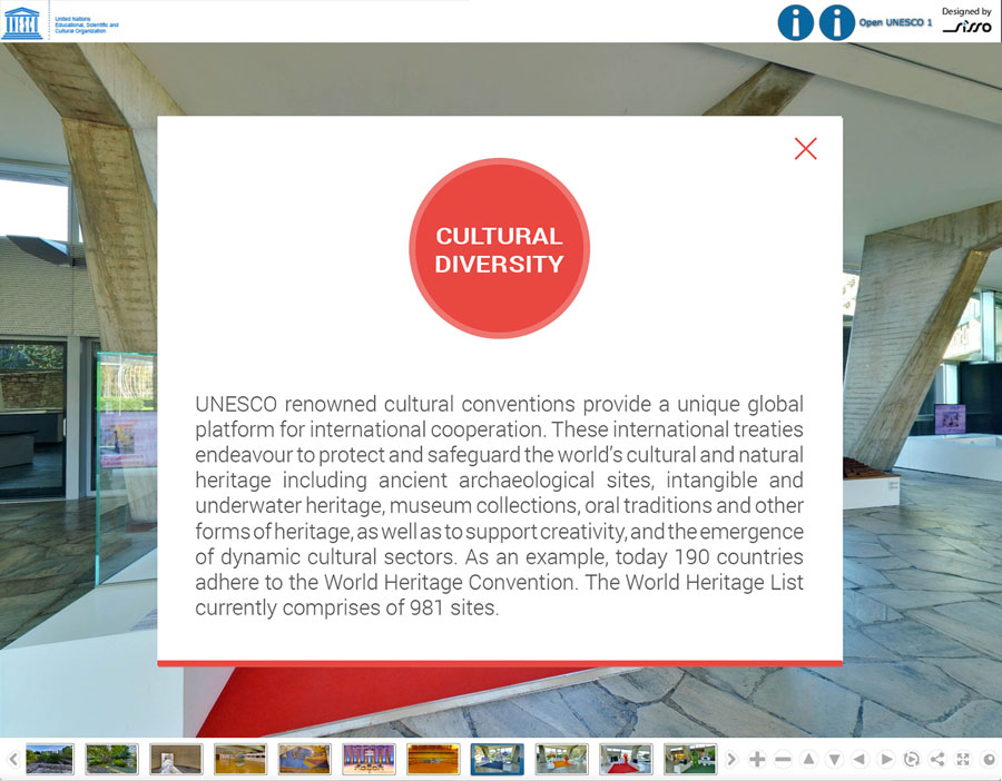 Unesco - Visite Virtuelle