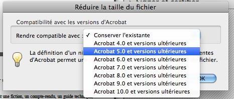 Capture d'écran - Comment Réduire la taille d'un fichier PDF