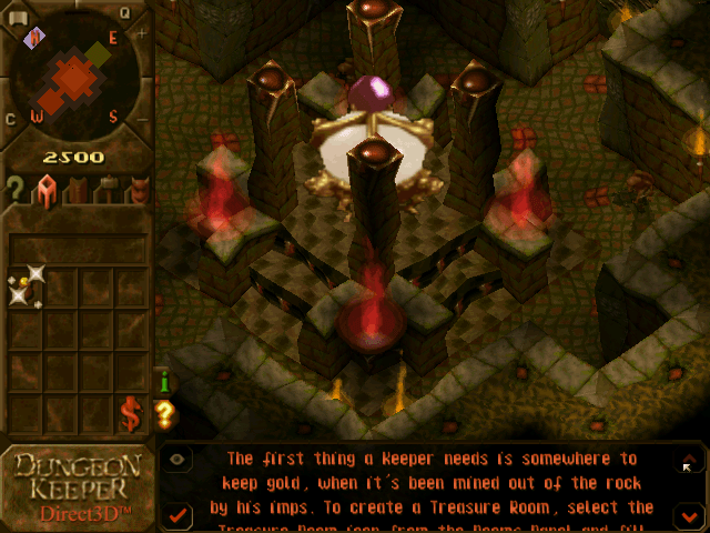 dungeon keeper gameplay