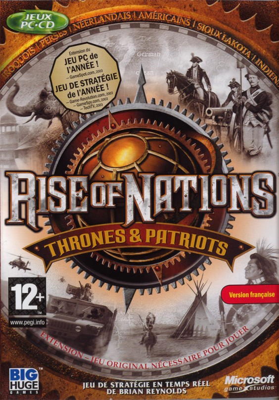 rise of nations box art