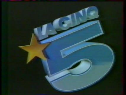 Logo de la chaîne La Cinq